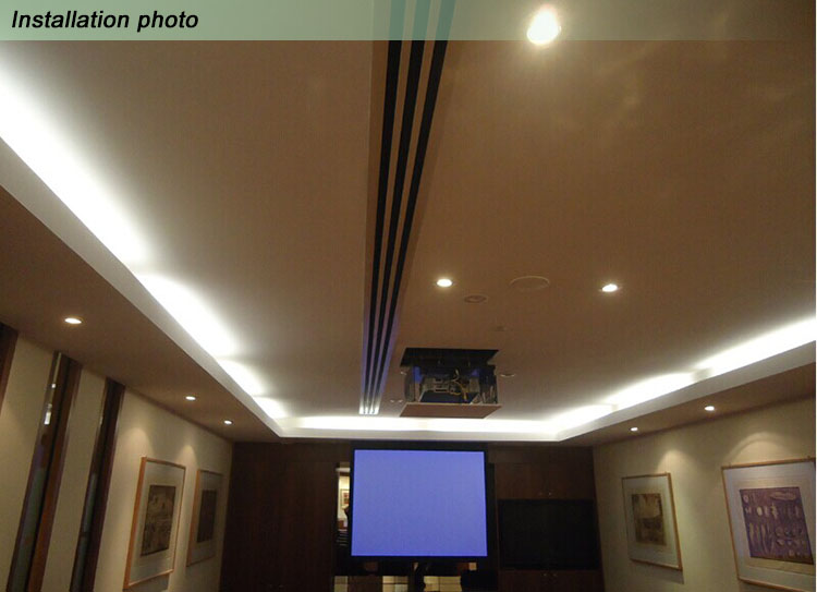 Ceiling Aluminum Linear Slot Diffuser Exhaust Air Grille