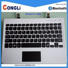Fashional utility bluetooth keyboard with touchpad for tablets,PC