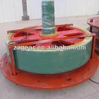 High-speed construction machine part worm gear speed reducers