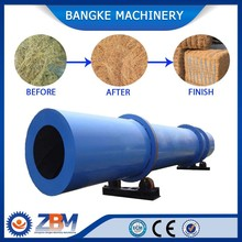 Hot Air Oven Oil Palm Fiber Rotary Dryer Machine in Malaysia
