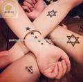 Dirección de tatuajes temporales pre entintado sellos de goma/buena calidad pre- entintada tatuaje de sello de goma