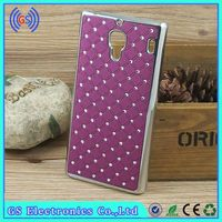 For Huawei G601 Case Bling Crystal Diamond Metal Case For Huawei Mobile Phone Cover