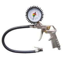 high precision dial tire inflator with gauge