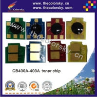 (CZ-DH4005) laser printer toner reset chip for HP CB400A - CB403A CB400 400A 400 Color LaserJet CP 4005 4005n 4005dn kcmy-7.5k