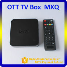 Hot Selling!! Digital Hd Receiver Android 4.4 MXQ S805 smart google android tv box skype