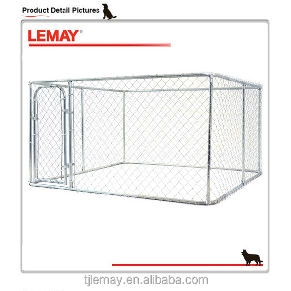 Hot sale 2-in-1 cheap large outdoor wholesale dog kennel