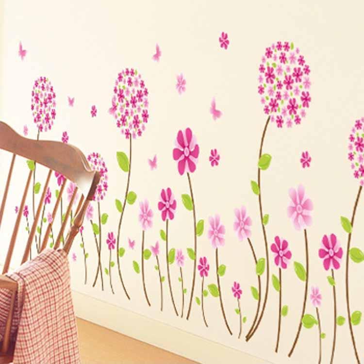 Рисунок декор стены