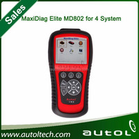 Wholesale price OBD2 scan tool Autel's new MaxiDiag Elite MD802 Full systems