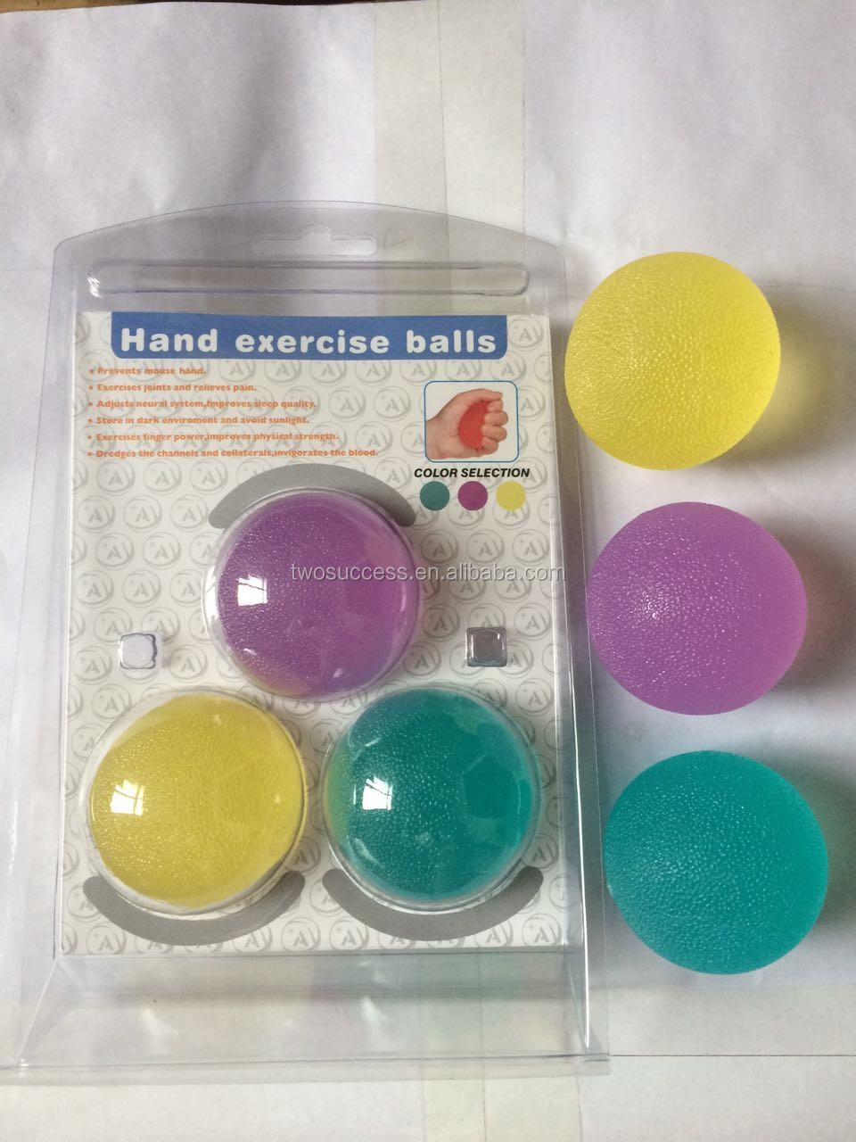 Hand Exerciser, egg ball, egg stress ball