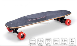 Dual-drive 3600w wireless remote control high speed sport skate board electric prices in egypt