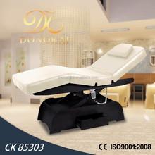 2015 electric facial bed & adjustable height backrest footrest by motor(CK 85303)