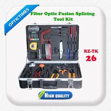 Easy to use 26 PCS Fiber Optic Fusion Splicing Tool Kit