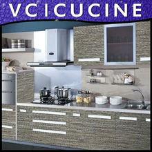 grey melamine kitchen cabinet