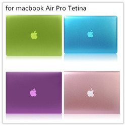 "hard shell cover laotop metal colour case for Macbook AIR 11"" 13 """