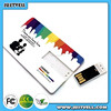 Credit card usb flash drive with customized packing &logo printing/portable usb flash drive with factory price