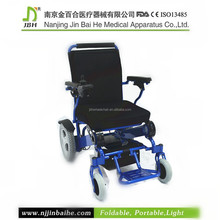 Wide wheels wheelchair for disabled