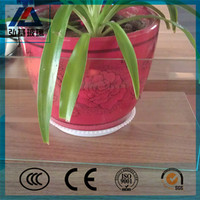 Weifang 6mm clear float glass for mirror with low price
