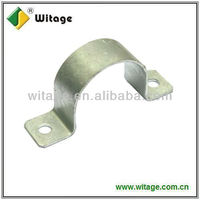 C shape galvanized pipe clamps,u clamps for pipes,6 inch pipe clamp
