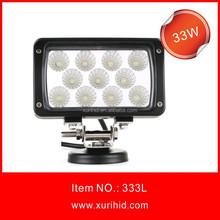 Hot Sale New Product! 33w 12v led driving lights for harley davidson