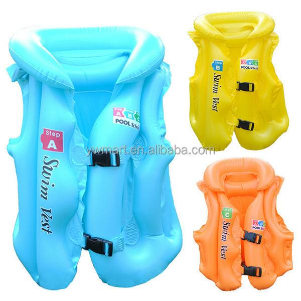 Pvc Inflatable Swimming Vest Inflatable Swim Vest Kids