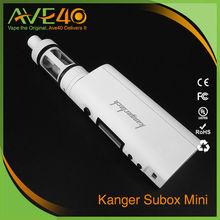 Kanger White and Black Subox Mini 4.5ml Tank Subox Mini Vape
