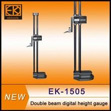 Digital electronic dual beam height gage