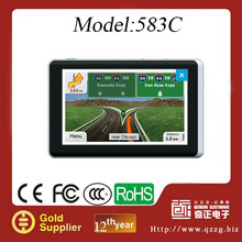 2014 Hot selling 5 inch Car GPS