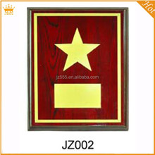 Wholesale high quality wooden award plaque