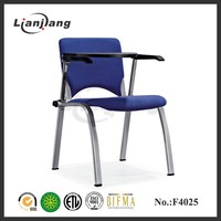 With useful writing table conference chair used