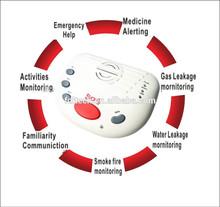 Elderly sos auto dialer emergency alarm with panic button