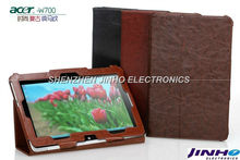 New Fashion Archaic Cowboy Stand Leather Case For Acer Iconia W510 W700 10.1'' Tablet