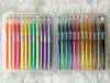 hot selling glitter/neon/pastelp pen,24/36 colors gel ink pen set