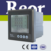 ISO certified R3000 Series LCD 3070A3 single phase ammeter/current meter