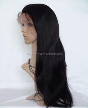 Elegant Wig 2014 most popular kinky straight human hair 36 inch long lace wig