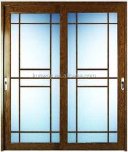 Aluminium Casement Door/ Glass Door with Grils