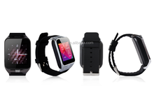 2015 new Mobile phone Support Bluetooth,mp3, big display gsm phone watch/smart watch sync for iphone