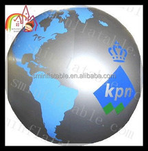 inflatable advertising model of the earth Helium balloons /advertising inflatable helium balloons business for sale
