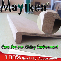 Wood stair , Modern indoor solid wood stair , plywood/wood stair tread