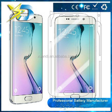 mobile phone accessories Anti-shock glass screen protector for s6 edge