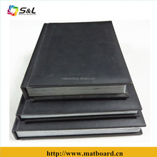 Fancy leather cover flush mount albums for professional photographer