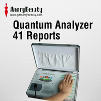 2015 latest CE approved quantum resonance magnetic health therapy analyzer with 41 reports