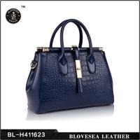 Ladies Fashion Orginal Women Genuine Leather Handbag Manufacturer