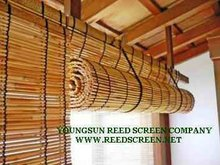 reed cane curtain