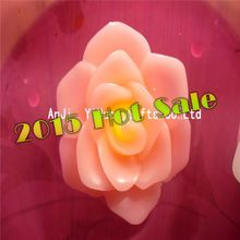 Wholesale Cheap colored Flower Shape flameless led candles