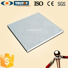 CE Approved Gypsum Board False Ceiling Price
