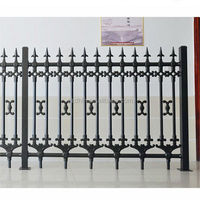 faux wrought iron fence