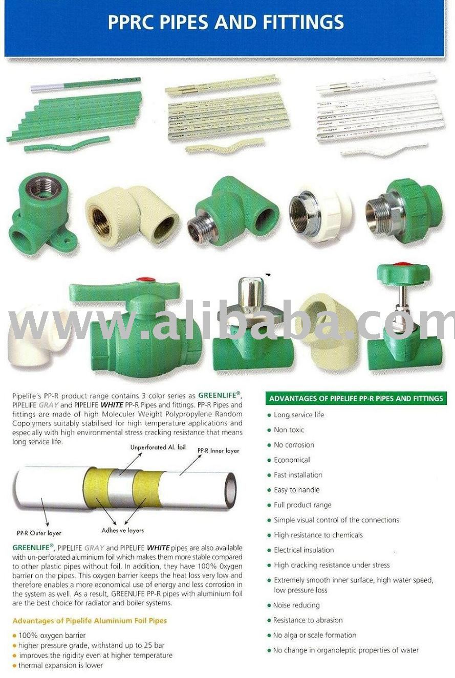 Ppr pipes fittings buy product on alibaba
