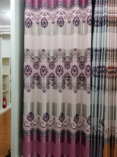 Wholesale china supplier custom flower pattern pigment print blackout fabric, color small flower printed cotton fabric