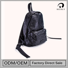 Superior Quality Customization Advantage Price Woman Genuine Leather Backpack