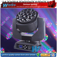 LED bee eye light beam + wash + digital moving head lights / LED bee eyes rotation lens moving head lighting